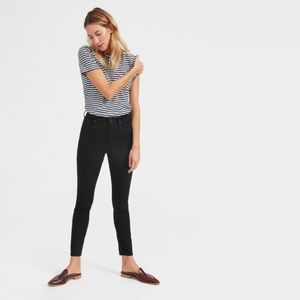 Everlane High Rise Skinny Jean in Black Size 27